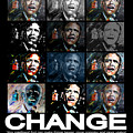 Change  - Barack Obama by Valerie Wolf