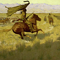 Change Of Ownership -the Stampede Horse Thieves by Frederic Sackrider Remington