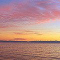 Channel Islands And Pacific At Sunset by Panoramic Images