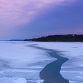 Channel Through The Ice by Amy Sorvillo