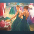 Channeling Degas by Diane Caudle