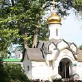 Chapel At Saints Boris And Gleb by James Hanemaayer