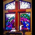 Chapel At The Wesleyan At Scenic by Robert J Sadler