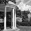 Chapel Hill Old Well In Black And White by Jill Lang