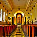Chapel Interior I by Carlos Diaz