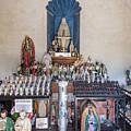 Chapel Mortuary Interior - San Xavier Del Bac Mission - Tucson Arizona by Jon Berghoff
