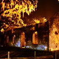 Chapel Of Ease St. Helena Island At Night by Lisa Wooten