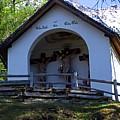 Chapel Of Rietz Calvary Tyrol Austria by Elzbieta Fazel