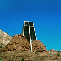 Chapel Of The Holy Cross Sedona Arizona by Gary Wonning