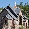 Chapel On A Rock 2 by John Franke