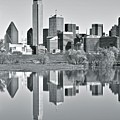 Charcoal Big D Reflection by Frozen in Time Fine Art Photography