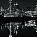 Charcoal Night In Dallas by Frozen in Time Fine Art Photography