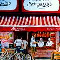 Charcuterie Schwartz's Deli Montreal by Carole Spandau