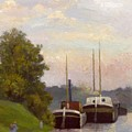 Charlands Sur La Seine 1885 by DuboisPillet Albert