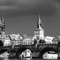 Charles Bridge Prague Czech Republic by Matthias Hauser