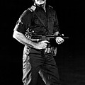 Charles Bronson In Raid On Entebbe 1977  by Mountain Dreams