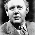 Charles Laughton Vintage Actor by Frank Falcon