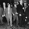 Charles Lucky Luciano In Center by Everett