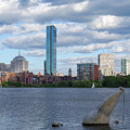 Charles River Boston Ma Crossing The Charles by Toby McGuire