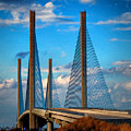 Charles W Cullen Bridge South Approach by Bill Swartwout Fine Art Photography