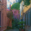 Charleston Alley In The Spring by Dale Powell