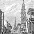 Charleston: Church, 1861 by Granger