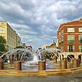 Charleston Fountain by Mike Covington