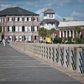 Charleston High Battery Side Walk by Dale Powell