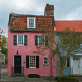 Charleston Pink House Charm by Dale Powell