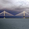 Charleston Ravenel Bridge by Skip Willits