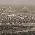 Charleston South Carolina Aerial by Dustin K Ryan