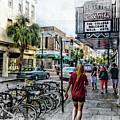 Charleston Street Scene - Mixed Media by David Smith