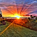 Charleston Sunset by Southern Flavor