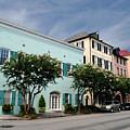 Charleston's Rainbow Row by Steavon Horne