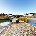 Charlestown From The Sea Wall by Terri Waters
