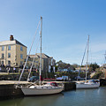Charlestown Harbour Cornwall by Terri Waters