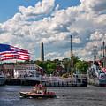 Charlestown Navy Yard - Boston by Joann Vitali