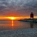 Charlevoix Sunset by Megan Noble