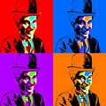 Charlie Chaplin Four 20130212 by Wingsdomain Art and Photography