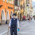 Charlie Chaplin In Innsbruck by Lisa Lemmons-Powers
