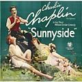 Charlie Chaplin In Sunnyside 1919 by Mountain Dreams