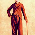Charlie Chaplin The Tramp 20130216p68 by Wingsdomain Art and Photography