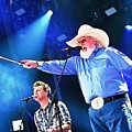Charlie Daniels On Stage by John Malone