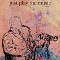 Charlie Parker Quote. Dont Be Afraid, Just Play The Music. by Drawspots Illustrations