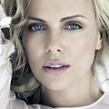 Charlize Theron Blue Eyed Blonde Blouse Celebrity Hollywood 31116 640x960 by Rose Lynn