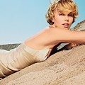 Charlize Theron by Dorothy Binder