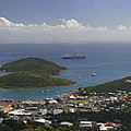 Charlotte Amalie From Above by Gary Lobdell
