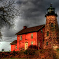 Charlotte-genesee Lighthouse  by Joel Witmeyer