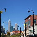 Charlotte Panorama From Elizabeth Ave by Jill Lang