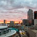 Charlotte Sunset by Gregory Hurst
